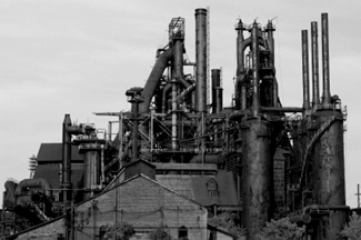 Steel Mill of the American Industrial Revolution